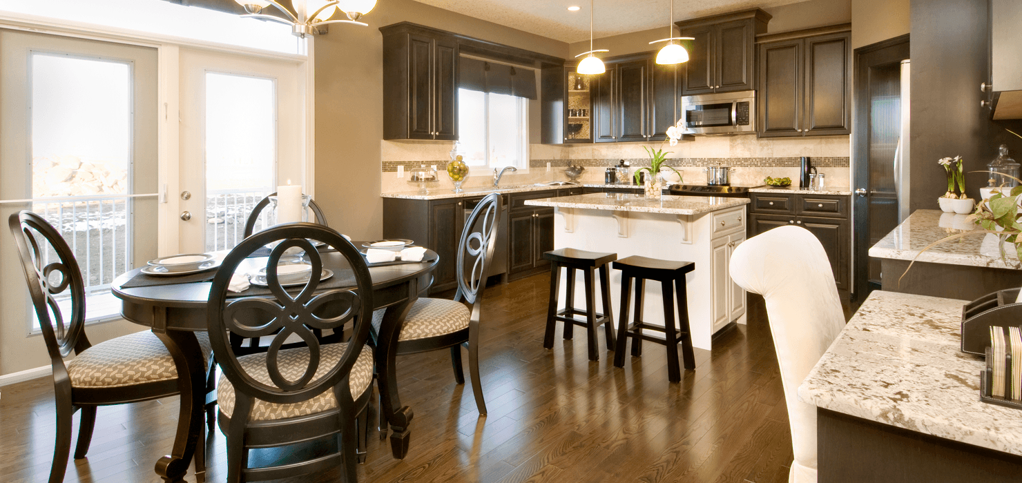 14 Décor Tips to Nail the Neutral Look Linden Dining Kitchen image