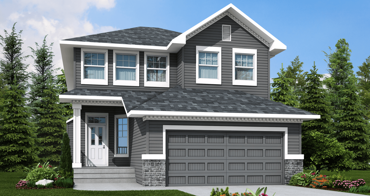 The Pros & Cons of Detached vs. Attached Garages Bentley Colonial Model image