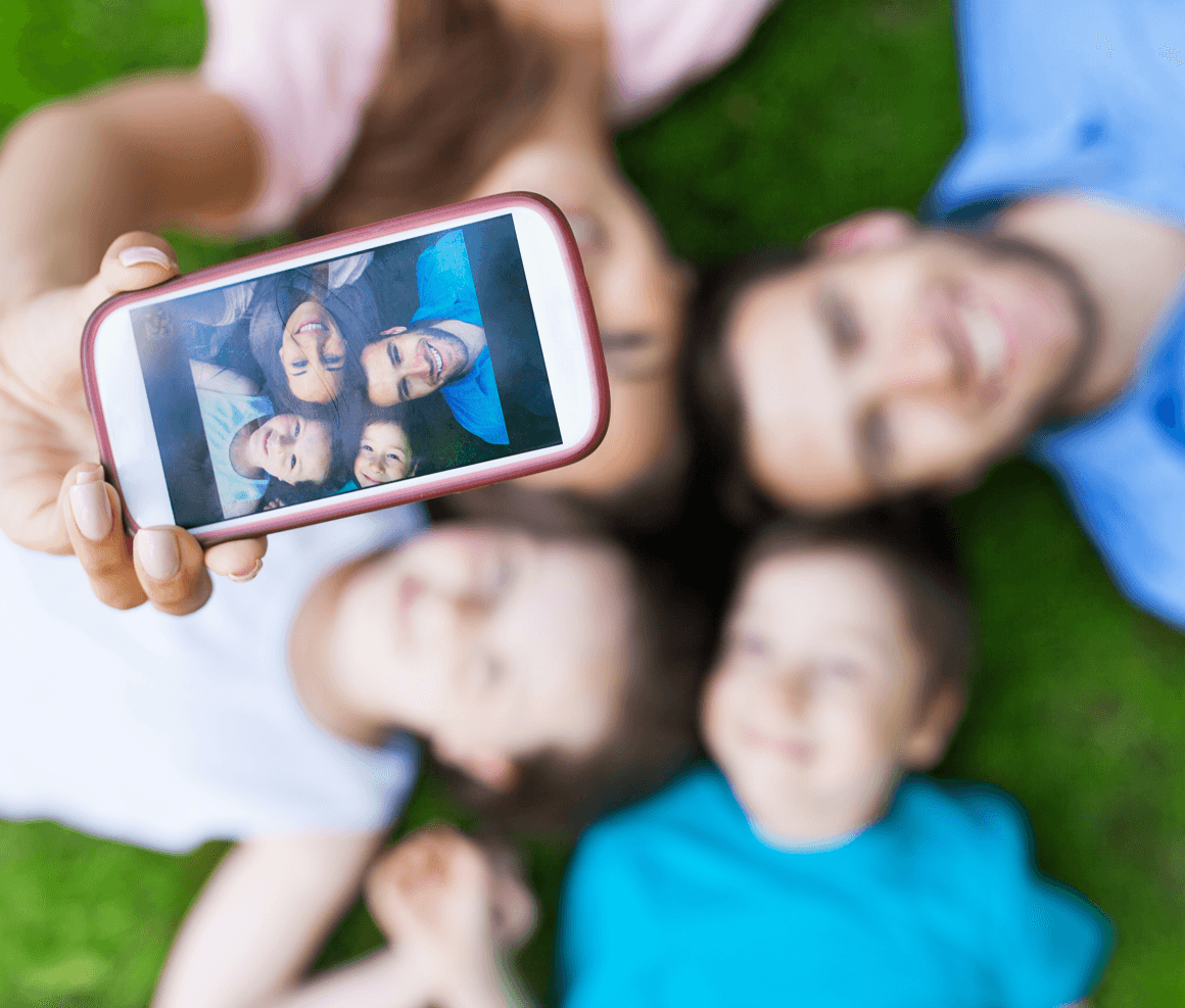 14 At-Home Activities to Spend Time With Your Kids Taking Pictures image