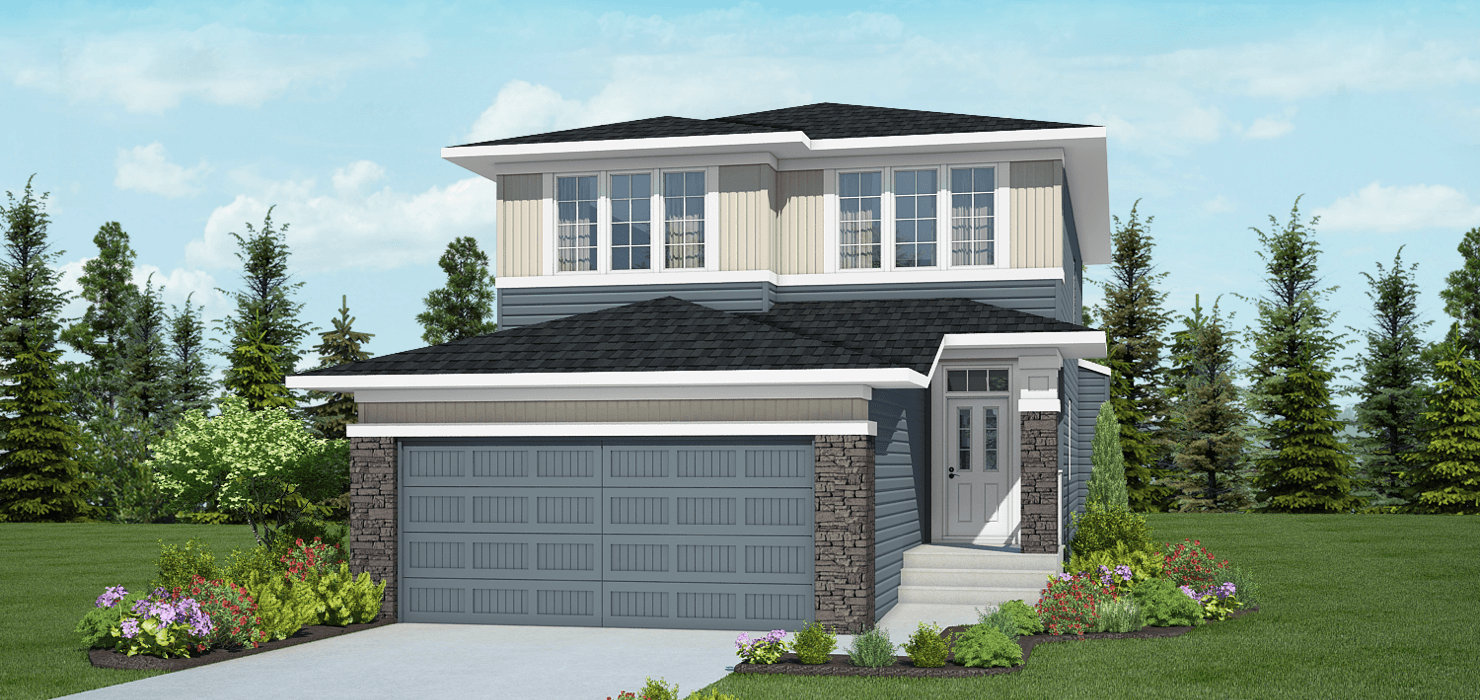 Brand New Show Home Opening in Crestmont Kingsley Foursquare Featured Image